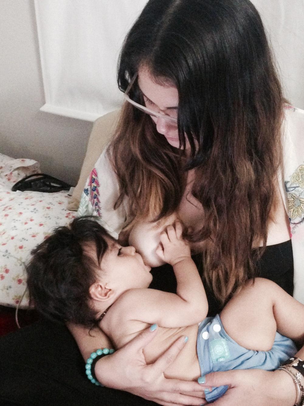 Tiago y mamá