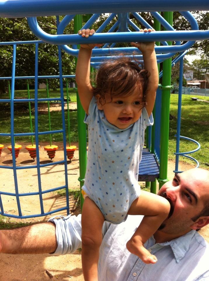 Papá Oso y bebé