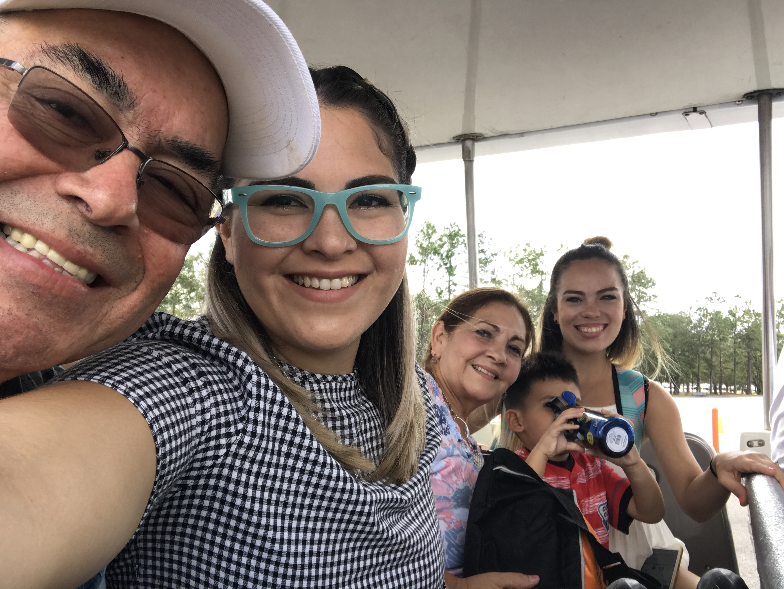 La familia en Disney Magic Kingdom